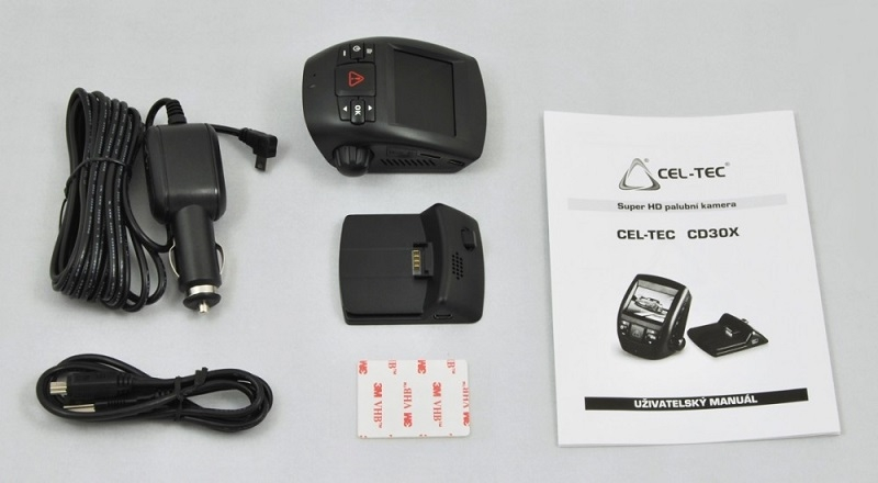 Kamera do auta CEL-TEC CD30X GPS