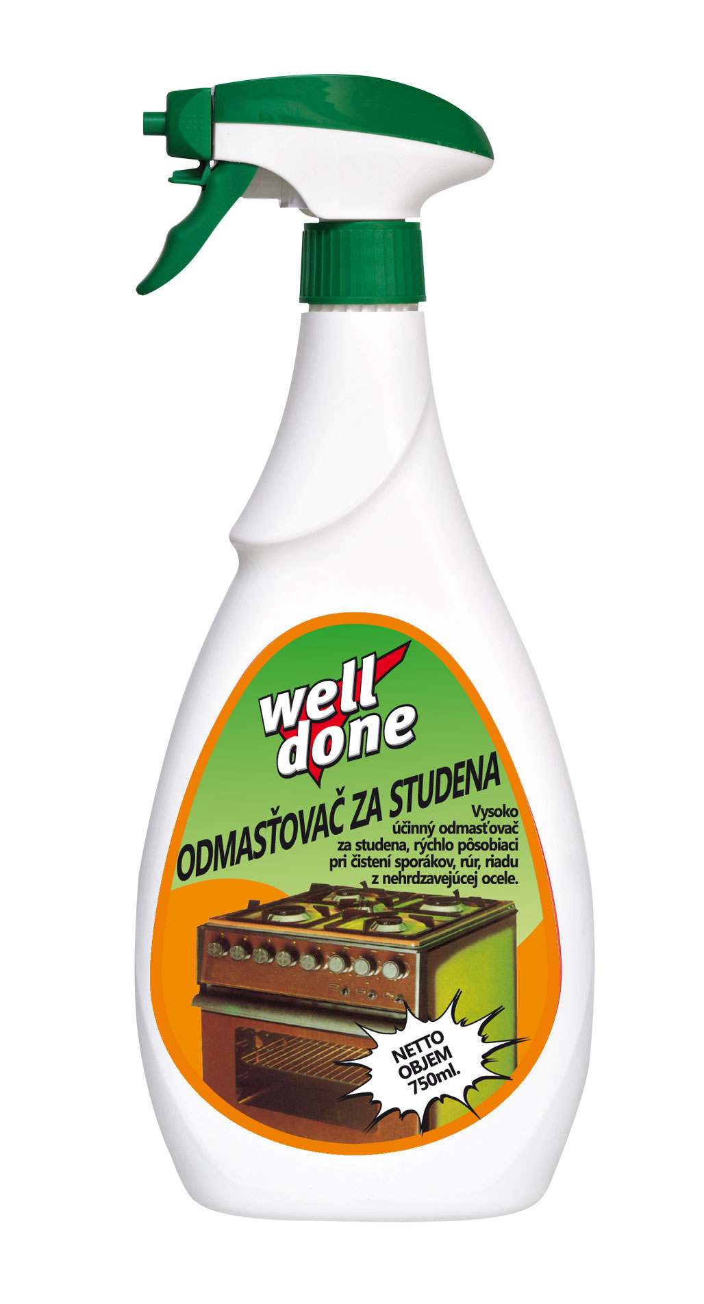 Well Done - Odmašťovač za studena 750ml